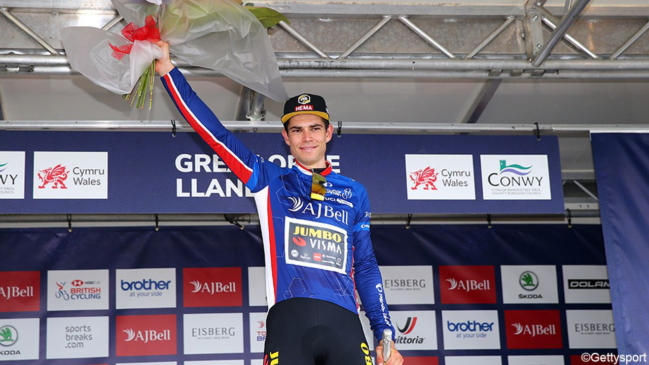 Sports director about Van Aert quotThis fits the plan he